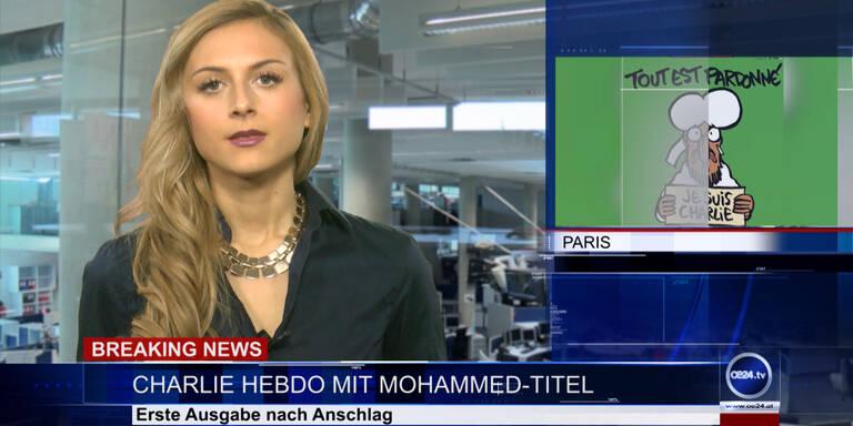 News TV: Charlie Hebdo mit Mohammed-Titel & Axt-Mord in Wien