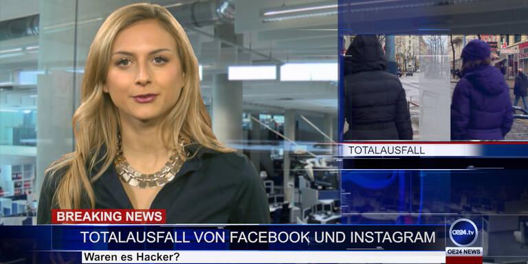 News TV: Facebook Totalausfall & Schneechaos in Österreich