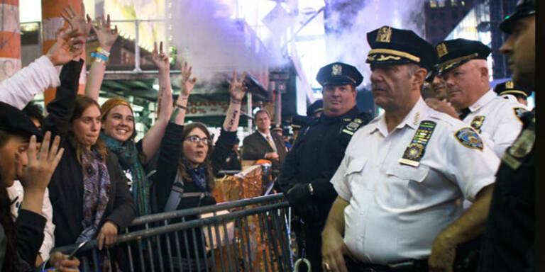 Mehr als 70 Festnahmen in New York