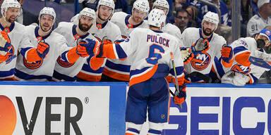 Islanders siegen über Tampa im Halbfinal-Auftakt