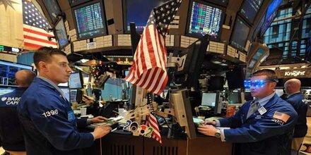US-Börsen schließen knapp im Minus