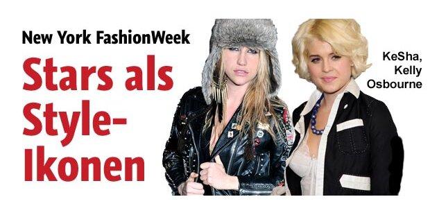 Fashion Week: So stylen sich die Stars