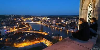 Nächtlicher Ausflug auf die Zitadelle von Namur