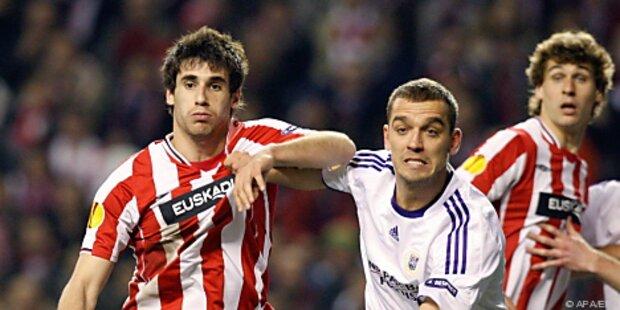 Fünf Festnahmen nach EL-Match Bilbao - Anderlecht