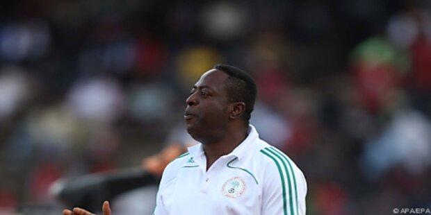Amodu erneut vor WM als Nigeria-Teamchef entlassen