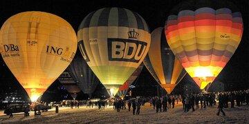 Events: Von Schlittenhunden bis zu Ballonen