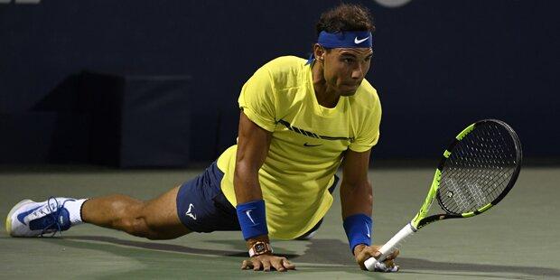 Nadal scheiterte an Tennis-Teenie Shapovalov
