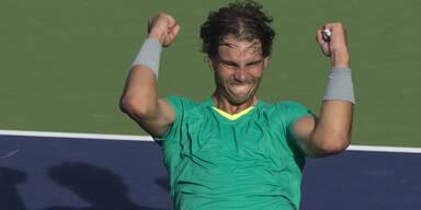 Nadal vor Comeback auf Tennis-Thron