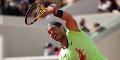 Rafael Nadal bei den Frech Open