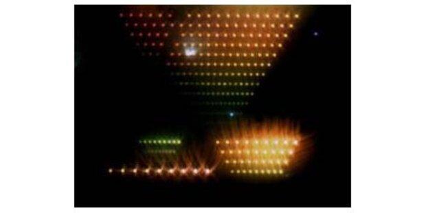 Nano-Antenne überträgt  Lichtstrahlen
