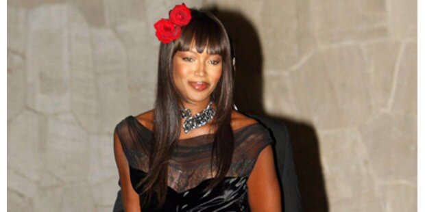 Naomi Campbell spendete