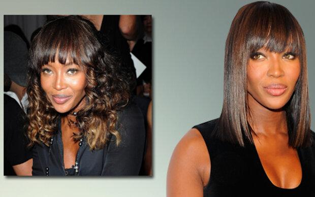 Naomi: Glatt statt lockig
