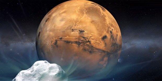 Neuer Hinweis auf Leben auf dem Mars
