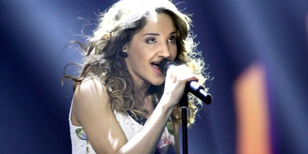 Natália Kelly rockt den Song Contest 2013