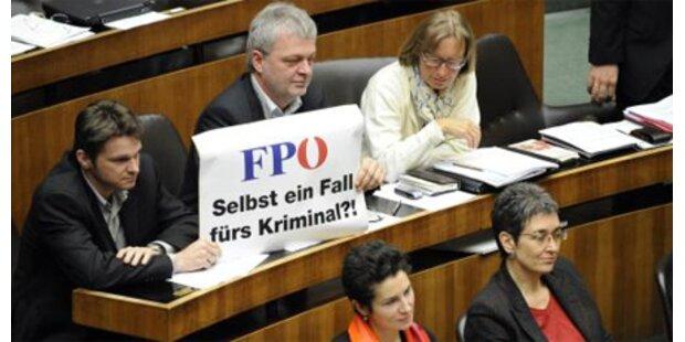 Parlamentarischer Krimi mit Ordnungsrufen
