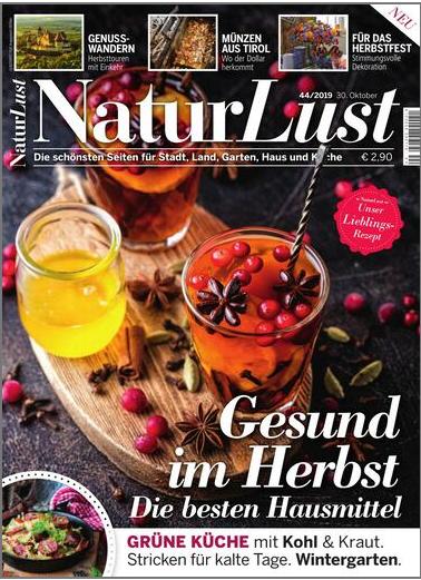 E-Paper Cover Naturlust