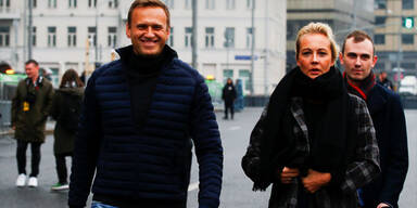 Nawalnys Ehefrau Julia in Moskau festgenommen