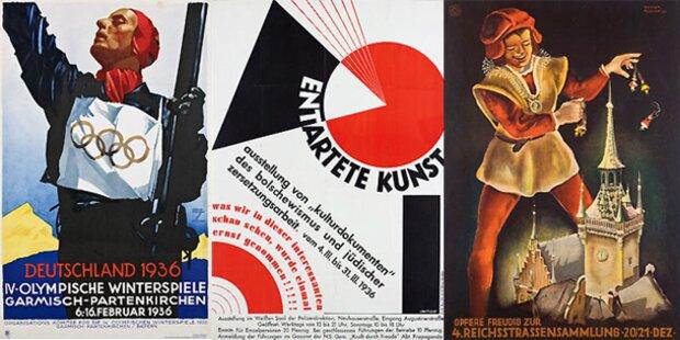 Münchner Museum zeigt Nazi-Plakate