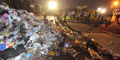 Erneute Müllkrise in Neapel