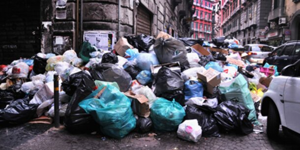 Genießbare Lebensmittel landen im Müll