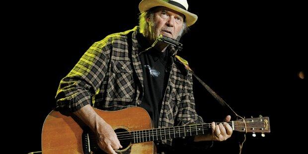 Neil Young rockt wie ein Jungbrunnen
