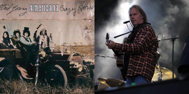 Neue Platte: Neil Young sattelt