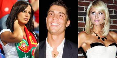 Nereida Gallardo, Cristiano Ronaldo, Paris Hilton