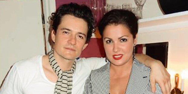 Netrebko: Heißer Flirt mit Film-Star