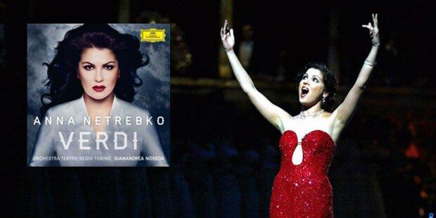 Anna Netrebko ist Album-Charts-Queen