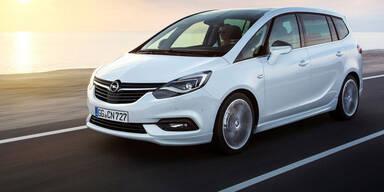 """Das kostet der """"neue"""" Opel Zafira"""