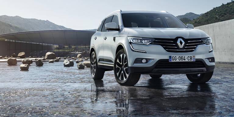 Renault stellt den neuen Koleos vor