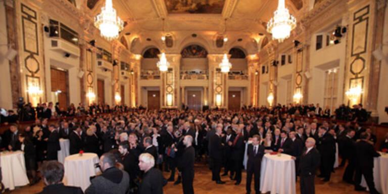 Neujahrsempfang kostete 110.000 Euro
