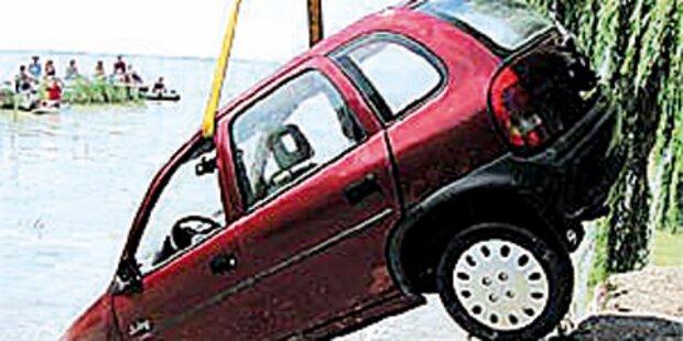 Unfallserie mit sehr jungen Autofahrern