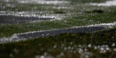 Regen: Wr. Neustadt gegen Rapid abgesagt