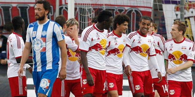Wiener Neustadt gegen Salzburg abgesagt