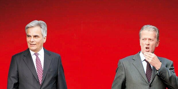 Neuwahl- Poker: ÖVP bleibt hart