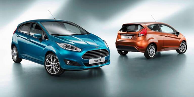 Ford spendiert dem Fiesta ein Facelift