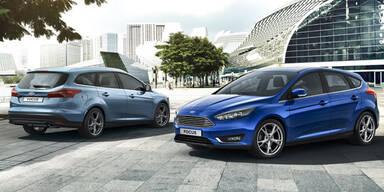 """Weltpremiere des """"neuen"""" Ford Focus"""