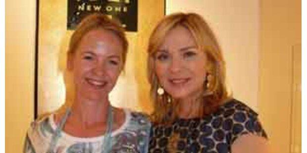 Kim Cattrall deckte sich in Wien mit Schmuck ein