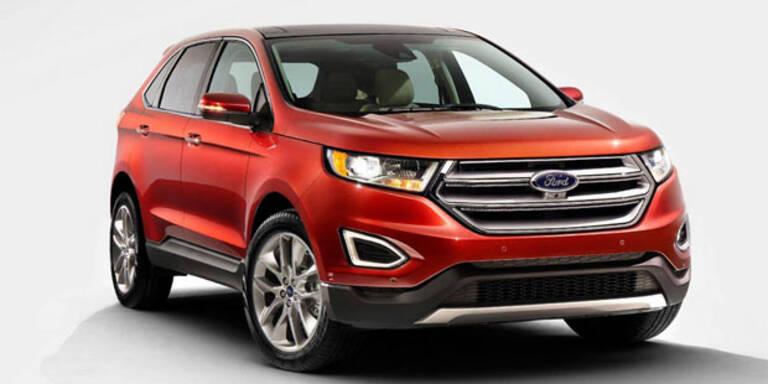 Startschuss für den neuen Ford Edge
