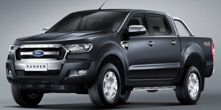 Facelift für den Ford Ranger