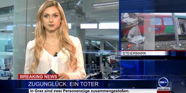 News TV: Zugunglück bei Graz & singende Kanaldeckel