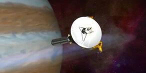 Pluto bekommt Besuch von der Erde