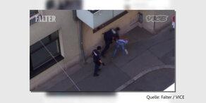Video zeigt brutale Polizei-Aktion