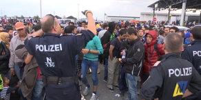 Wieder tausende Flüchtlinge eingetroffen