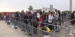 Flüchtlingsstrom nimmt kein Ende