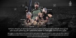 ISIS zeigt Aufnahmen der Paris-Attentäter
