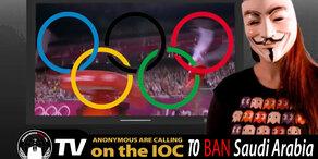 Darum droht Anonymous dem Olympischem Komitee
