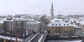 Italien-Tief bringt halben Meter Neuschnee