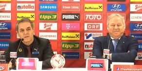 ÖFB verlängert mit Teamchef Koller